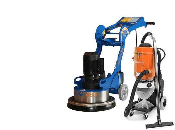 FDM Hire Grinder Dust Package